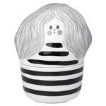 Marimekko Annikki collectible box, white - black - grey