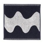 Marimekko Lokki minipyyhe, luonnonvalkoinen - tummansininen