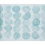 Lapuan Kankurit Sade laudeliina 46 x 60 cm, valkoinen - turkoosi
