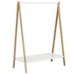 Normann Copenhagen Toj clothes rack, large, white - ash