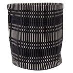Johanna Gullichsen Helios fabric basket M, black