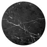 Menu Androgyne pöydän marmorikansi, musta