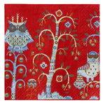 Iittala Tovagliolo di carta Taika 33 cm, rosso