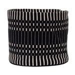 Johanna Gullichsen Helios fabric basket S, black