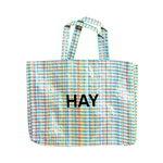Hay Multi Check shopper, M