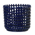Ferm Living Ceramic basket, large, blue