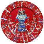 Iittala Taika lautanen 27 cm, punainen