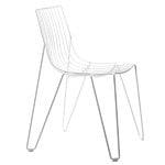 Massproductions Tio tuoli, valkoinen