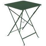 Fermob Bistro pöytä 57 x 57 cm, cedar green