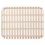 Artek Siena tray, 43 x 33 cm, sand - white