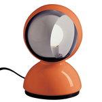 Artemide Eclisse table/ceiling lamp, orange