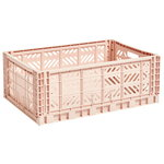 Hay Colour crate, L, nude