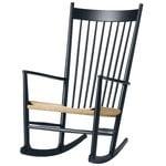 Fredericia J16 rocking chair, black