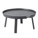 Muuto Around coffee table, large, anthracite