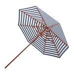 Skagerak Messina aurinkovarjo halk. 270 cm, raidallinen, sininen - valkoi