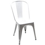 Tolix A chair, white