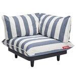 Fatboy Paletti nojatuoli, kulma, raidallinen, ocean blue - valkoinen