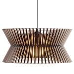 Secto Design Lampada Kontro 6000, nera