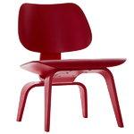Vitra Plywood Group LCW nojatuoli, punainen
