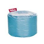 Fatboy Pouf rotondo Point, blu ghiaccio