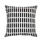Artek Fodera per cuscino Siena 40 x 40 cm, nero-bianco
