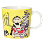 Arabia Moomin mug, Misabel, yellow