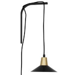 Studio Joanna Laajisto Edit wall lamp, black-brass