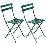 Fermob Bistro Metal chair, 2 pcs, cedar green