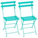 Fermob Bistro Metal tuoli, 2 kpl, lagoon blue