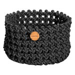 Cane-line Soft Rope basket, medium, dark grey