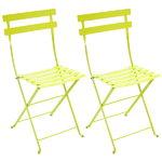 Fermob Bistro Metal chair, 2 pcs, verbena green