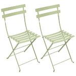Fermob Bistro Metal tuoli, 2 kpl, willow green