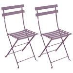 Fermob Bistro Metal tuoli, 2 kpl, plum