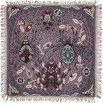 Klaus Haapaniemi Spider peitto, 120 x 120 cm, violetti