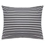 Marimekko Tasaraita tyynyliina, musta - valkoinen