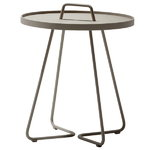 Cane-line On-the-move table, large, taupe