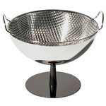Alessi AC04 fruit bowl/colander, steel