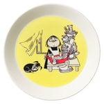 Arabia Moomin plate 19 cm, Misabel, yellow