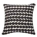 Marimekko Räsymatto cushion cover, black-white