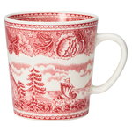 Arabia Maisema mug 0,3 L, red