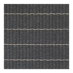 Woodnotes Line rug, graphite - stone
