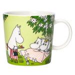 Arabia Moomin mug, Relaxing