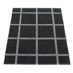 Pappelina Ada rug 70 x 100 cm, black - granit metallic
