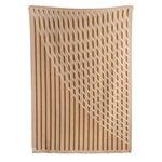 Røros Tweed Bislett throw 200 x 135 cm, cappuccino