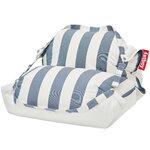 Fatboy Original Floatzac, striped, ocean blue - white