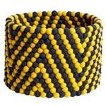 HAY Bead kori, 40 cm, keltainen - tummansininen
