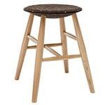 Hem Drifted stool, dark cork - oak
