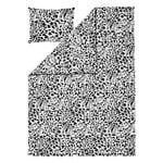 Iittala OTC Cheetah duvet cover set, 150 x 210 cm, black - white