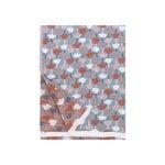 Lapuan Kankurit Tulppaani torkkupeitto, 130 x 180 cm, kaneli - sininen