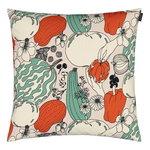 Marimekko Vihannesmaa cushion cover 50 x 50 cm, cotton - red - green